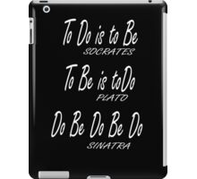 Do be Do be Do, Greek version, MUSIC, Frank Sinatra Lyrics, on BLACK iPad Case/Skin