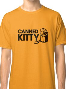 Canned Kitty Gold Tee/Yellow Poster Classic T-Shirt