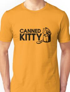 Canned Kitty Gold Tee/Yellow Poster Unisex T-Shirt