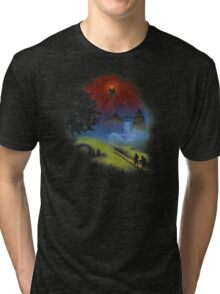 The Lord Of The Rings - Over The Hill Tri-blend T-Shirt