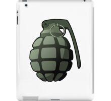 Hand grenade iPad Case/Skin