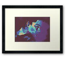 Stiles Stilinski - Colour Palette Challenge Framed Print