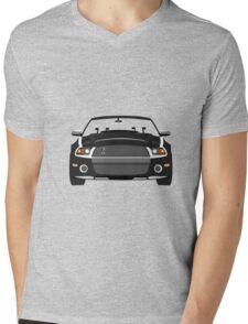 Car mustang Mens V-Neck T-Shirt