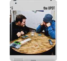 almond poker iPad Case/Skin