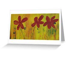 acrlic painting Greeting Card
