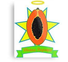 Holy Papaya Metal Print