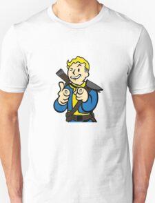 Fallout | Vault Boy | Finger Guns | Design | High Quality T-Shirt
