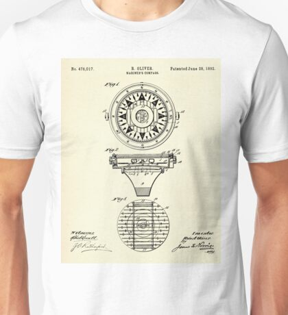 Mariner´s Compass-1892 Unisex T-Shirt
