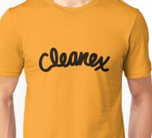 Cleanex Tissues  Gold Tee/Yellow Poster Unisex T-Shirt