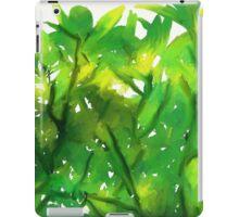 Green iPad Case/Skin