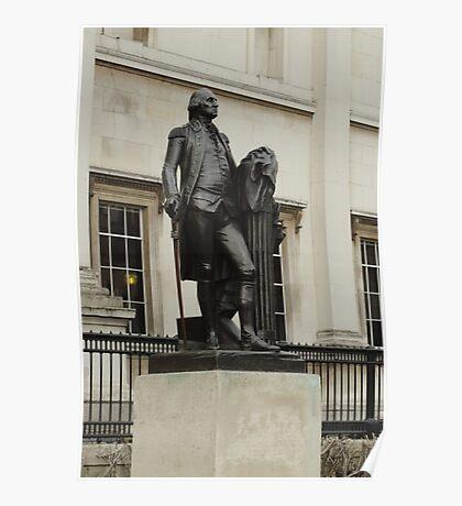 Statue of George Washington Poster