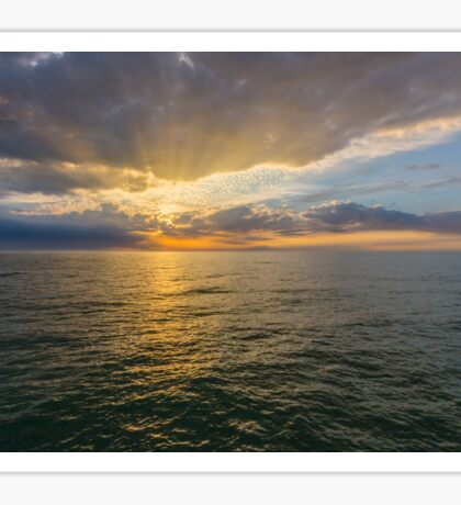 Gulf of Mexico Sunset Sticker
