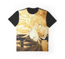 Flowing Hair By the Sunset Air Gear Graphic T-Shirt