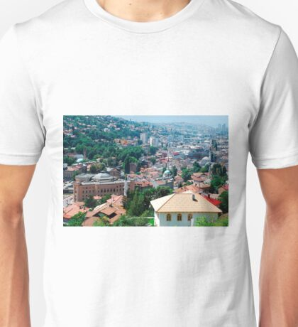 Sarajevo Skyline Unisex T-Shirt
