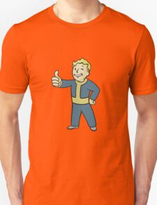Fallout | Vault Boy | Thumbs UP | Full Body | White Background | High Quality T-Shirt