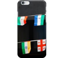 Strings of National Flags iPhone Case/Skin