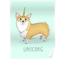 Unicorg Poster
