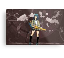 Awesome Street art Inspired Air Gear Metal Print