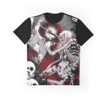 Air Gear Anime With Skeleton Figure Graphic T-Shirt