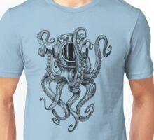 Octopus Scuba Diver Helmet Unisex T-Shirt