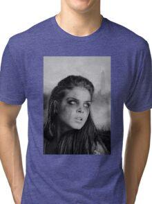 The 100 - Octavia Blake (b/w) Tri-blend T-Shirt