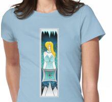 Book Spirit Bookmark: Sieki - Teal Womens Fitted T-Shirt