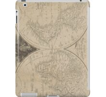 Vintage Map of The World (1811) iPad Case/Skin