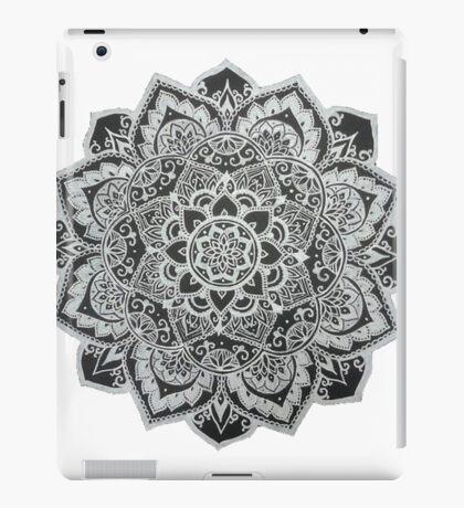 B&W Mandala iPad Case/Skin