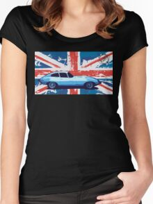 DLEDMV - UK Type E Women's Fitted Scoop T-Shirt