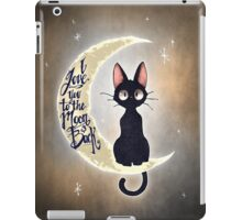 I love you to the moon & back iPad Case/Skin
