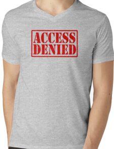 ACCESS DENIED Mens V-Neck T-Shirt