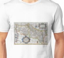 Vintage Map of Portugal (1579) Unisex T-Shirt