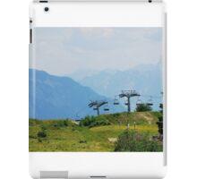 Landscape on Monte Zoncolan iPad Case/Skin