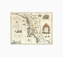 Vintage Map of New England (1635) Unisex T-Shirt