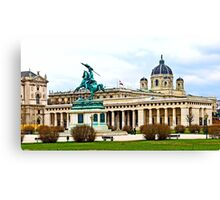 Austria - Heroes' Square at Vienna Canvas Print