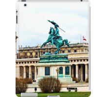 Austria - Heroes' Square at Vienna iPad Case/Skin