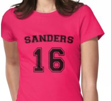 Sanders 16 (Black) Womens Fitted T-Shirt
