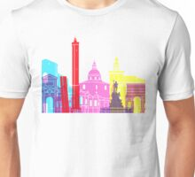 Bologna skyline pop Unisex T-Shirt