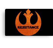 The Resistance logo Canvas Print