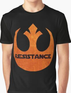The Resistance logo Graphic T-Shirt