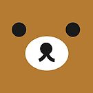 rilakkuma brown face by bammydfbb