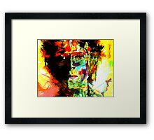 Young starman Framed Print