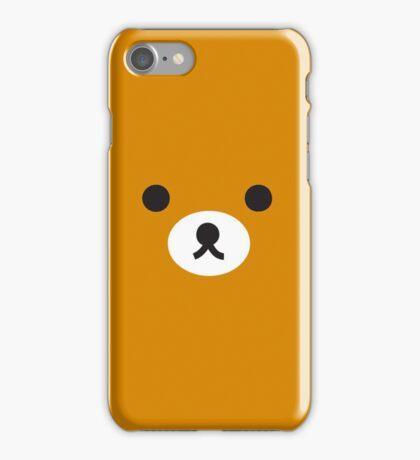 rilakkuma brown face iPhone Case/Skin