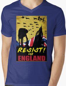 Star Wars WWII Propaganda Mashup Mens V-Neck T-Shirt