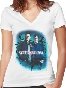 Supernatural 2 Women's Fitted V-Neck T-Shirt