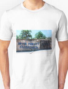 Graffiti in Travnik Unisex T-Shirt