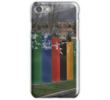 Flags ~ Olympic Training Center Chula Vista, California ~ USA iPhone Case/Skin