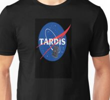 Tardis Nasa Space Program Unisex T-Shirt