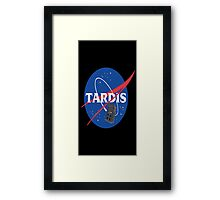 Tardis Nasa Space Program Framed Print