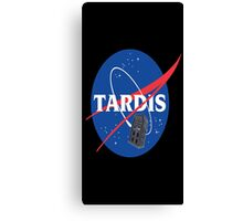 Tardis Nasa Space Program Canvas Print